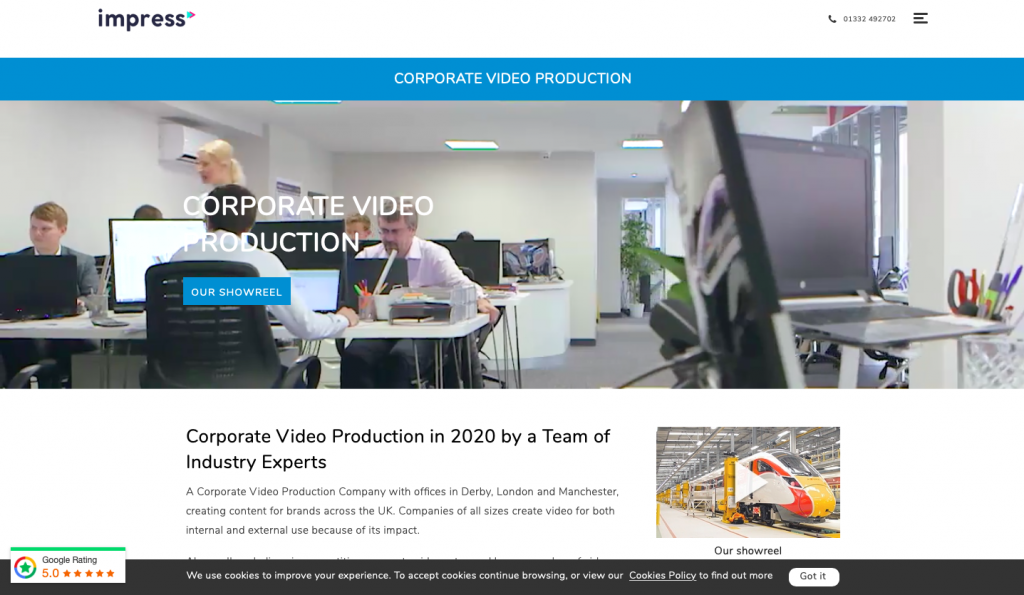 Videos in the product page