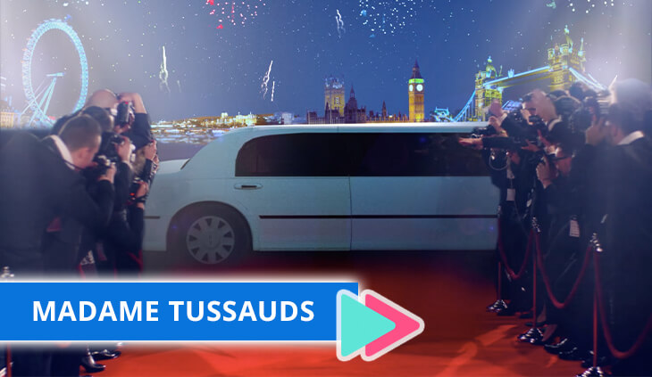Madame tussads promotional video
